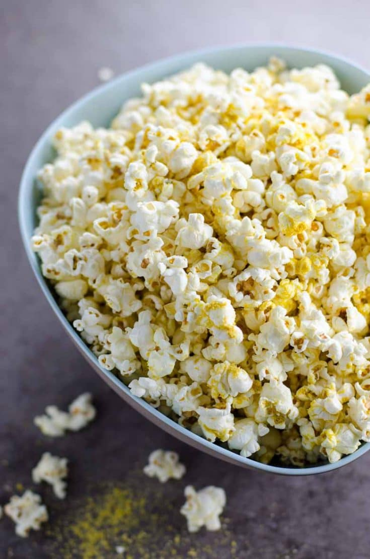 My Perfect Popcorn Recipe (with Nutritional Yeast)