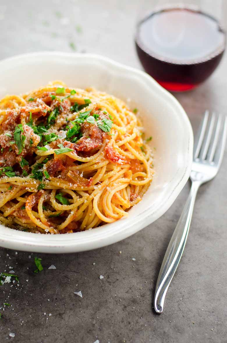 My Perfect Spaghetti al Pomodoro 780 | Umami Girl