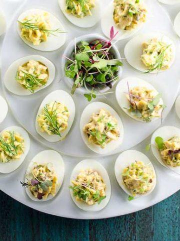 Nicoise Deviled Eggs 780   Umami Girl-2