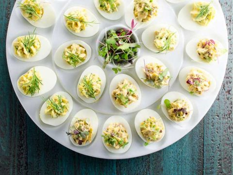 Niçoise Deviled Eggs Recipe