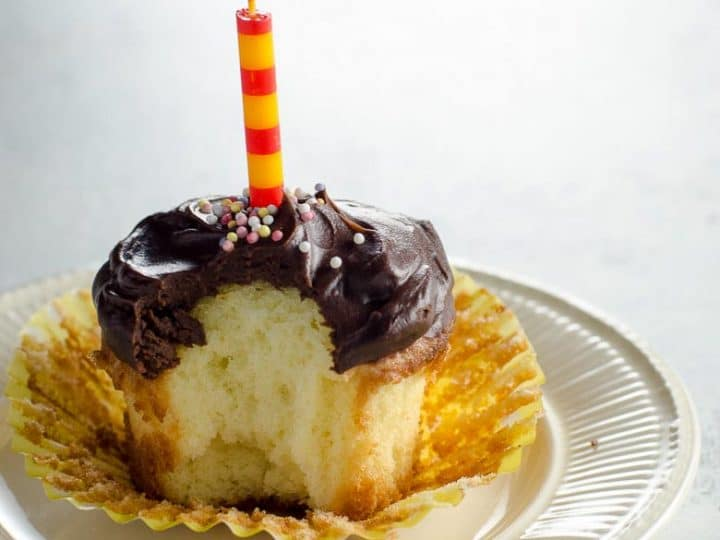 Norwegian Gold Cake (or Cupcakes) with Sour Cream Ganache 780 | Umami Girl-2