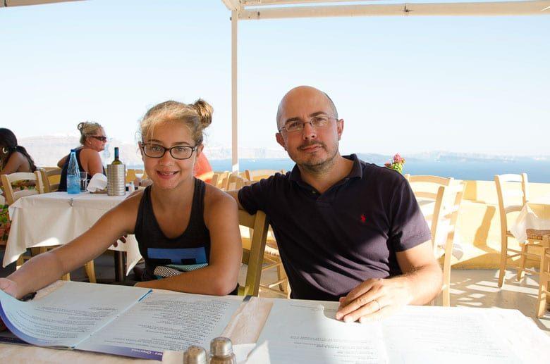 Oia Village Santorini Greece Skala Restaurant 780 | Umami Girl