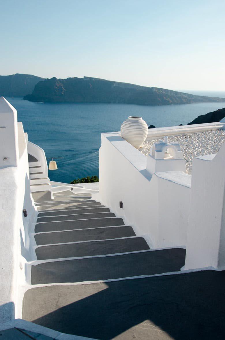 Oia Village Santorini Greece Stairway 780 | Umami Girl
