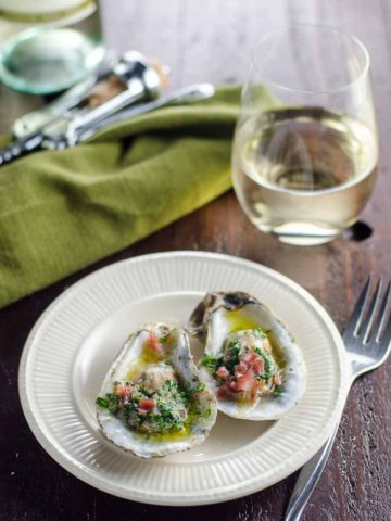 Party-Ready Oysters Recipe with Herbed Butter and Prosciutto- 780 | Umami Girl