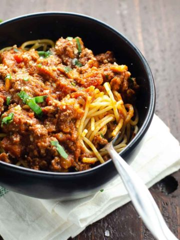 Perfect Spaghetti Bolognese Recipe 780 | Umami Girl
