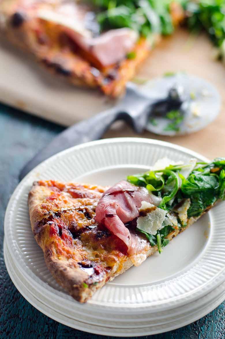 Prosciutto Arugula Pizza 780 | Umami Girl