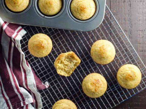 Proud Yankee Cornbread Muffins 780 | Umami Girl-2