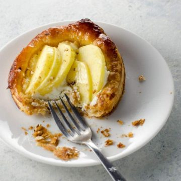 Puff Pastry Apple Tart with Goat Cheese and Honey 780 | Umami Girl-2
