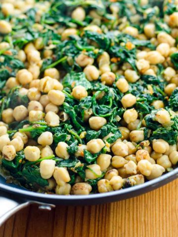Quick Indian Spinach and Chickpea Curry 780 | Umami Girl-2