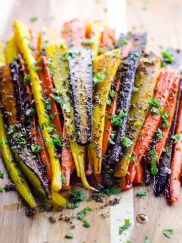 -Rainbow Roasted Carrots with Mustard and Cumin Seeds 780 | Umami Girl