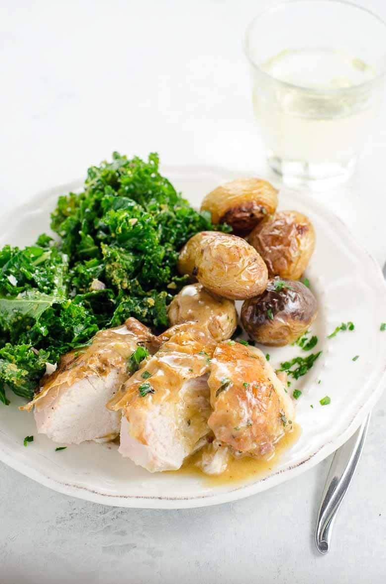 Roast Chicken and Potatoes 780   Umami Girl-2