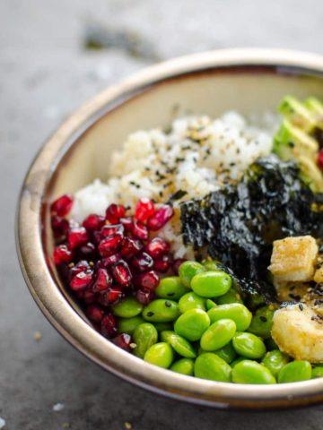 Roxane's 20 Minute Vegan Sushi Bowls 780 | Umami Girl