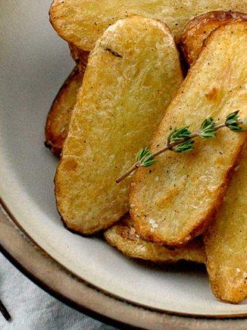Salt and Vinegar Broiled Fingerling Potatoes 780   Umami Girl