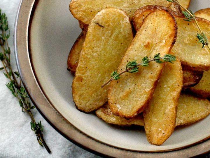 Salt and Vinegar Broiled Fingerling Potatoes 780 | Umami Girl