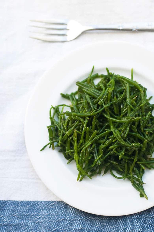 Samphire Sea Beans Saltwort Glasswort Recipe 780 _ Umami Girl