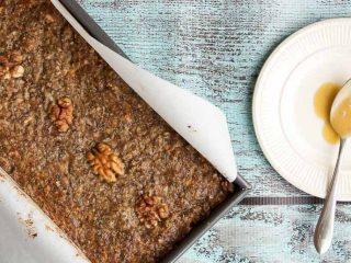 Savory Nut Loaf Recipe // Vegetarian Meatloaf