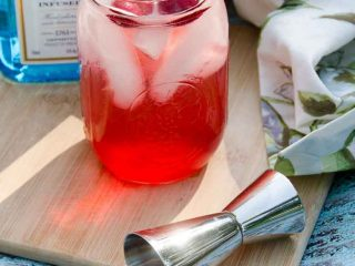 Sour Cherry French 75