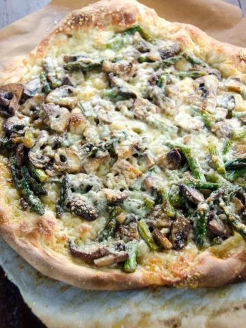 Spring Vegetable Pizza 780 | Umami Girl-2