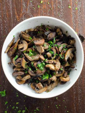 The Best Sauteed Mushrooms Recipe 780 | Umami Girl