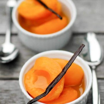 Vanilla Poached Apricots 780 | Umami Girl
