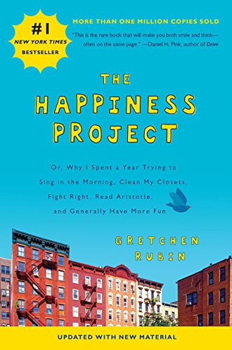 the happiness project by gretchen rubin book cover