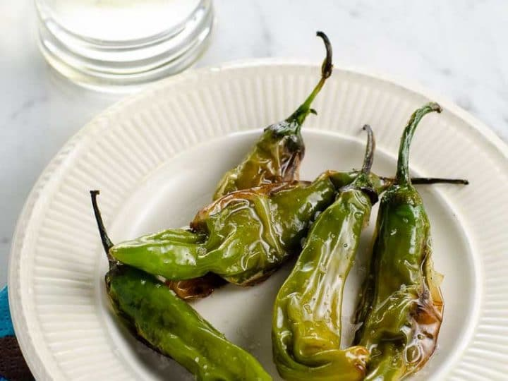 Charred Shishito Peppers Recipe 780 | Umami Girl