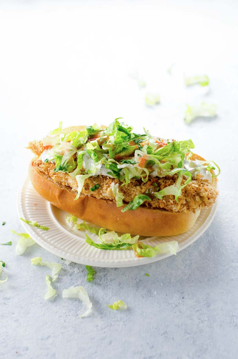 Crispy Chicken Sandwich Recipe 780 | Umami Girl-2