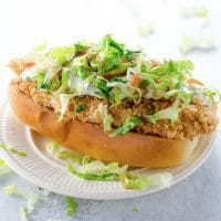 Crispy Chicken Sandwich Recipe (Chicken Tenders)