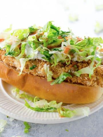 Crispy Chicken Sandwich Recipe 780 | Umami Girl-2
