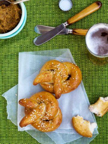 Easy Homemade Soft Pretzels Recipe 780 _ Umami Girl