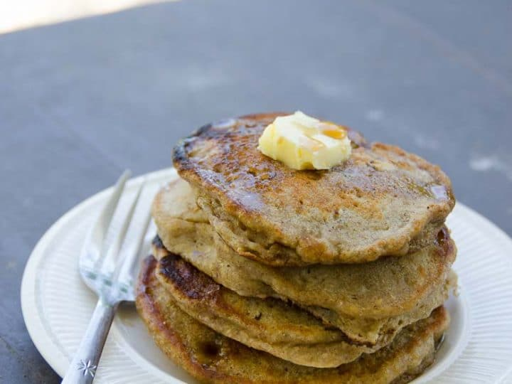 Easy Vegan Banana Pancakes Recipe 780 | Umami Girl