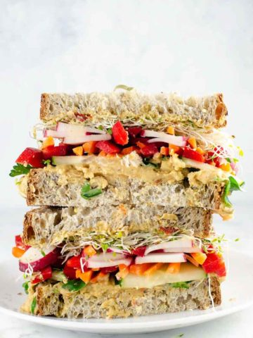 Epic Veggie Sandwich with White Bean Spread 780 | Umami Girl-2