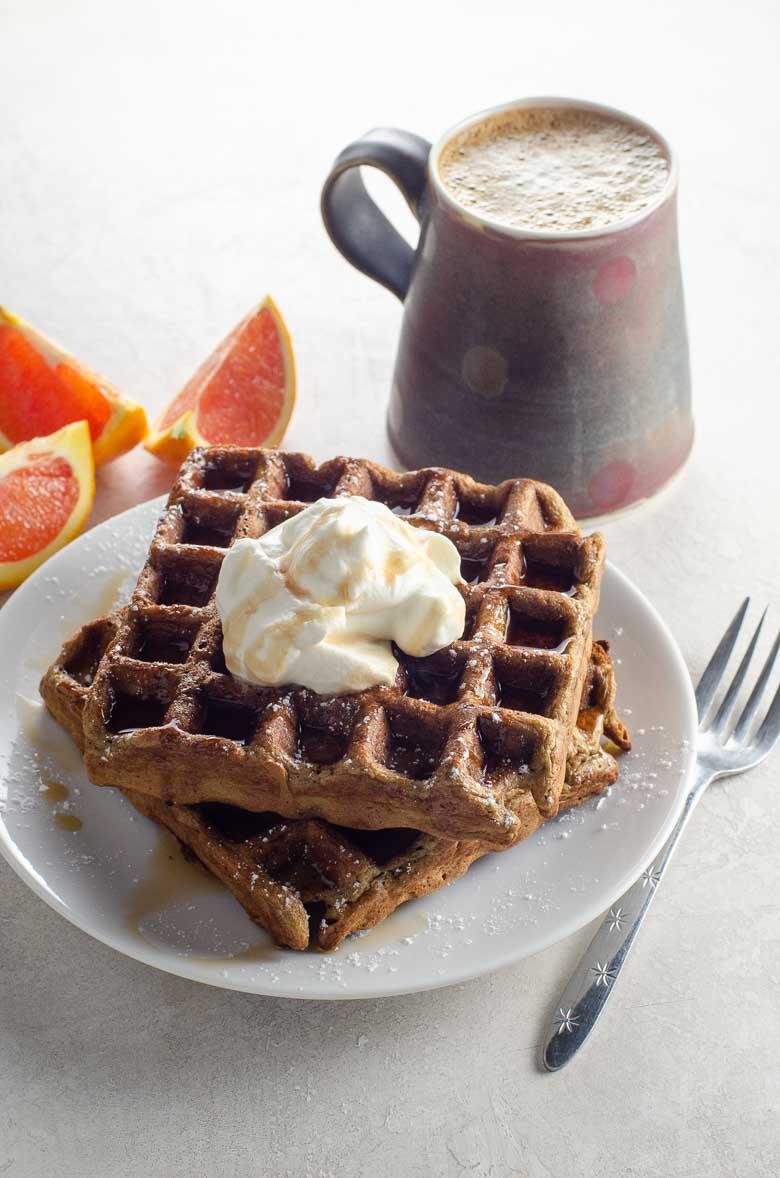 Gingerbread Waffle Recipe 780 | Umami Girl-4