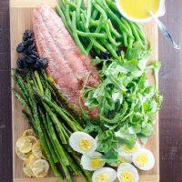 Grilled Salmon Nicoise Salad
