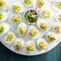 Herbed Deviled Eggs Recipe 780 | Umami Girl-2