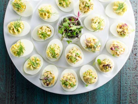 Herbed Deviled Eggs