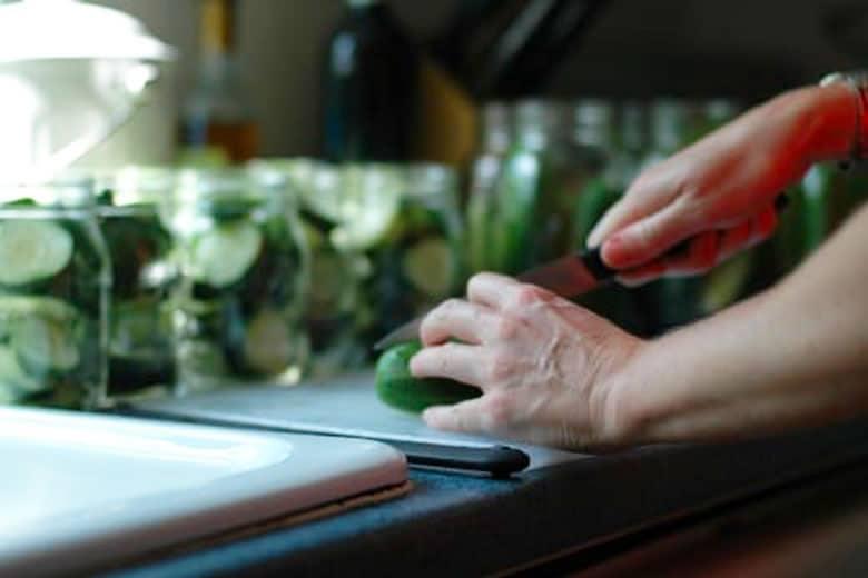 Making Homemade Pickles 780