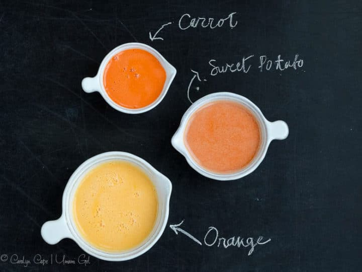 Orange, Carrot, and Sweet Potato Juice 780 | Umami Girl