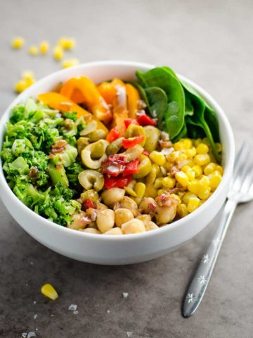 10-Minute Chickpea Broccoli Bowls 780 | Umami Girl