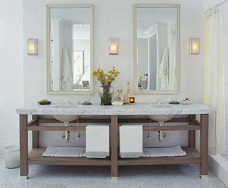Double sink bathroom inspiration | Umami Girl