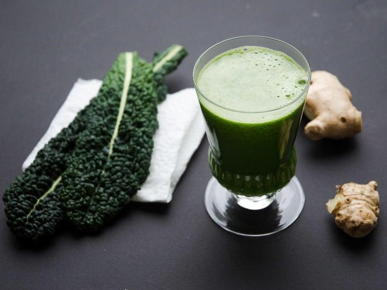 Balanced Green Juice Recipe 780 | Umami Girl