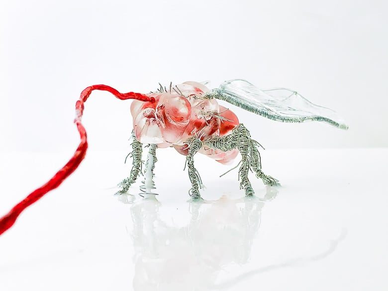 Beth Solin Out Me In Me Out Fly Sculpture | Umami Girl