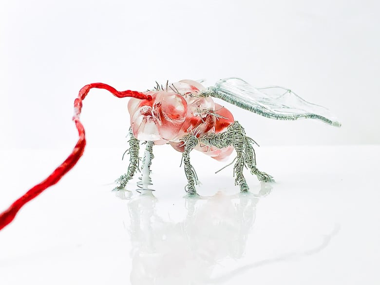 Beth Solin Out Me In Me Out Fly Sculpture   Umami Girl