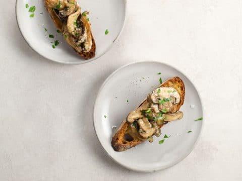 Brandied Mushroom Bruschetta | Umami Girl 780-2