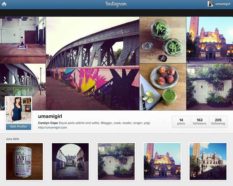 Carolyn Gratzer Cope on Instagram 780   Umami Girl