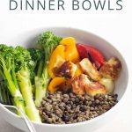 Dinner Tonight Halloumi Dinner Bowls _ Umami Girl PIN