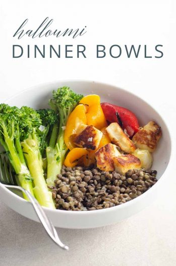 Dinner Tonight Halloumi Dinner Bowls _ Umami Girl PIN