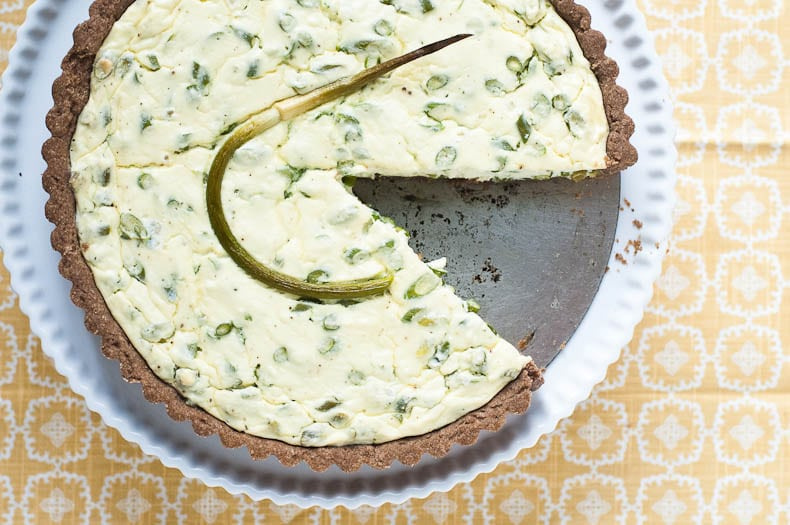 Garlic Scape Tart | Umami Girl