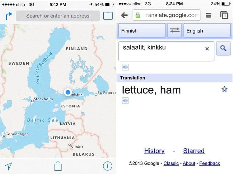 Ham Salad in Helsinki Finland | Umami Girl 780