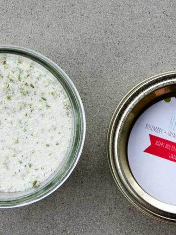 Herb Salt Recipe Homemade Gifts 780 | Umami Girl-3